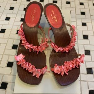 Kate Spade Pink Coral Raquel Sandals